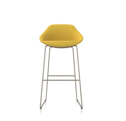 Friant Jest Counter Chair in Canary