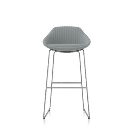 Friant Jest Counter Chair in Steel
