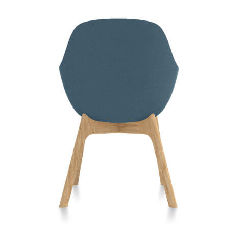 Friant Jest Guest Chair Back View