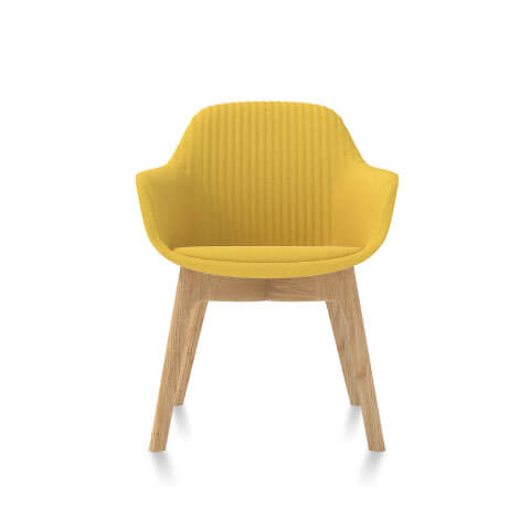 Friant Jest Guest Chair in Canary
