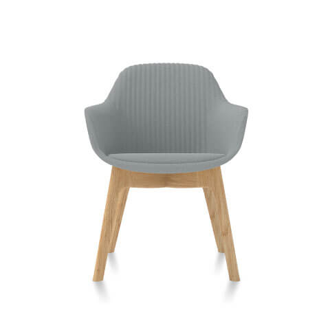 Friant Jest Guest Chair in Steel