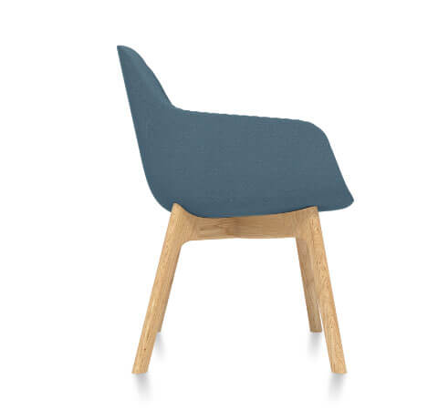 Friant Jest Guest Chair Side View