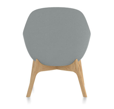 Friant Jest Lounge Chair Back View