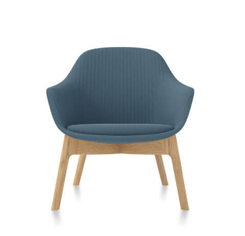 Friant Jest Lounge Chair in Dusk