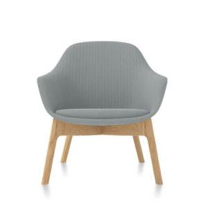 Friant Jest Lounge Chair in Steel