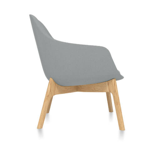Friant Jest Lounge Chair Side View