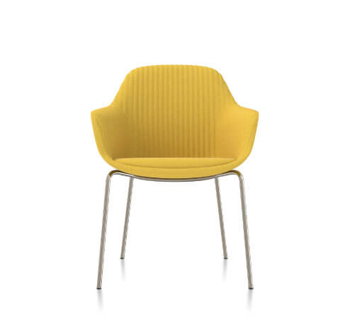 Friant Jest Table Chair in Canary