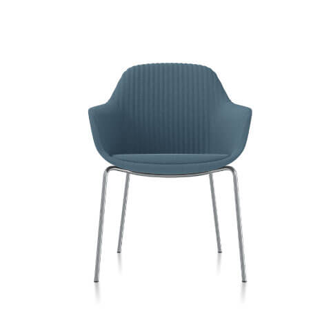 Friant Jest Table Chair in Dusk