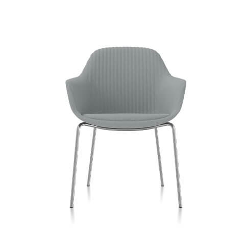 Friant Jest Table Chair in Steel