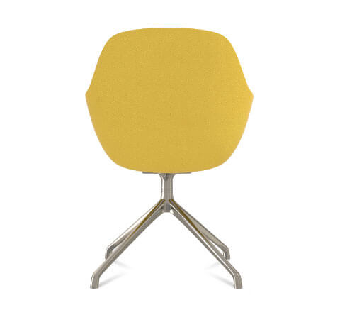Friant Jest Y Base Chair Back View