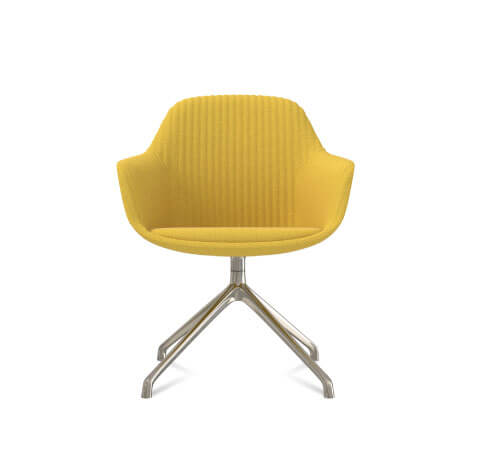 Friant Jest Y Base Chair in Canary