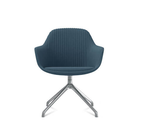 Friant Jest Y Base Chair in Dusk