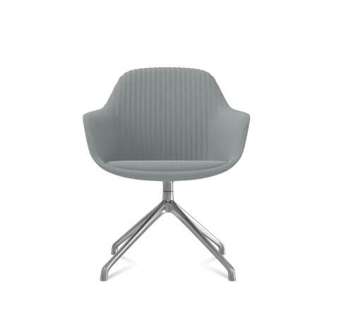 Friant Jest Y Base Chair in Steel