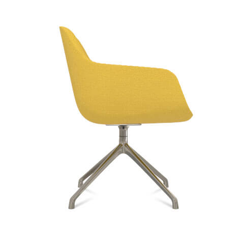 Friant Jest Y Base Chair Side View