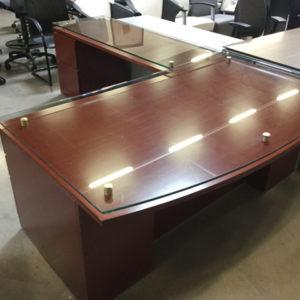 Knoll l shape desk